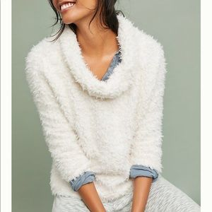 "Anthropologie ""Saturday Sunday"" Sherpa Pullover"
